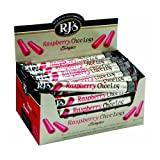 Rj's Licorice Raspberry and Chocolate Logs (Pack of 30)