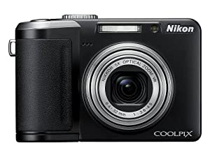 Nikon Coolpix P60 8.1MP Digital Camera with 5x Optical Zoom with Vibration Reduction (Black)