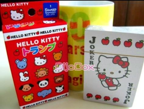 Hello Kitty Multi Characters Poker Playing Card - 1
