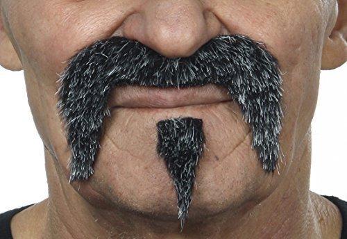 The Zappa gray moustache