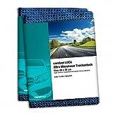 2er Set caretool Ultra-Microfaser-Tuch Trockentuch - zieht Wasser wie ein Magnet - Mikrofaser perfekt für Auto, Autolacke, Motorrad und Küche - 60x40 cm Farbe blau