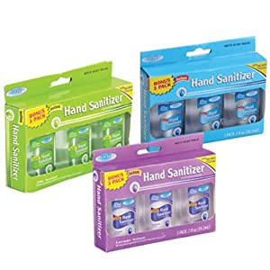 Personal Care Product - Assured Travel-Size Hand Sanitizers in Assorted Scents, 3-ct. Pack
