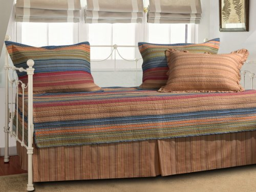 Great Deal! Greenland Home Katy 5-Piece Daybed Set