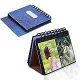 Xhorizon TM MSH Mini Album Photo,album de photographies pour Fujifilm Instax Mini 8 7s 25 50s 90 Film, carte de visite avec support de bureau 3 pouces 72 pièces