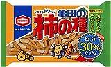 亀田製菓 減塩亀田の柿の種6袋詰 200g×6袋