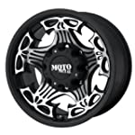 Moto Metal Skull MO909 Gloss Black Wh...