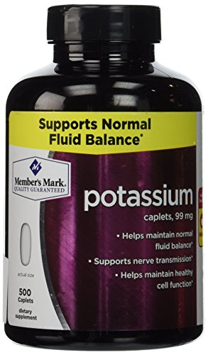 Member's Mark Formerly Simply Right Potassium Caplets - 500ct