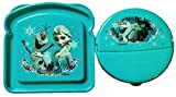 Disney's Frozen Meal Time Lunch Set for Kids 2-Pc Reusable Meal Food Storage Containers Featuring Elsa, Sven & Olaf!