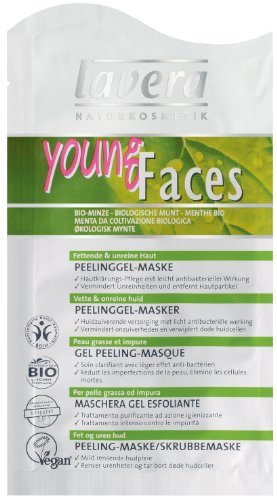 Young Faces Mint Exfoliant Mask by Lavera Skin Care 0.33 oz Liquid