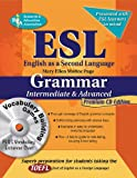img - for ESL Intermediate/Advanced Grammar w/Vocab Builder w/CD-ROM (English as a Second Language Series) book / textbook / text book