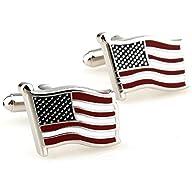 Flying American National Flag Men's O…