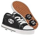 Heelys Jazzy Black/White Kids Shoes UK JNR12