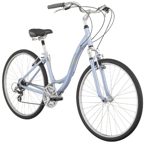 Diamondback Vital Two Women's Comfort Hybrid Bike (700c Wheels), Metal Purple, Medium/17-Inch