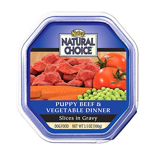 Nutro Natural Choice Puppy Food 24 Pack Beef