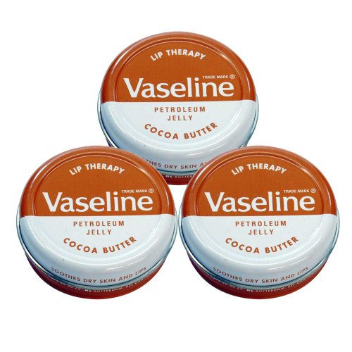 Vaseline Lip Therapy ヴァセリン 20g Cocoa Butter 3個セット 3pcs set