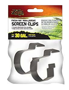 Zilla 11497 Fresh Air Non-Locking Screen Clips, Large, 2-Pack