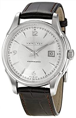 Hamilton Men's H32515555 Jazzmaster Silver Dial Watch