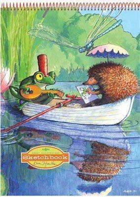eeBoo Boat Ride Sketchbook
