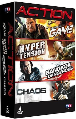 Coffret Action - Ultimate Game + Bangkok Dangerous + Next + Hyper tension