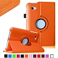 Fintie (Orange) 360 Degrees Rotating Stand Case Cover For Samsung Galaxy Tab 2 7.0 Inch Tablet -- Multiple Color...