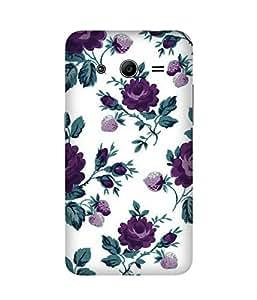 Purple Roses Samsung Galaxy Core 2 Case