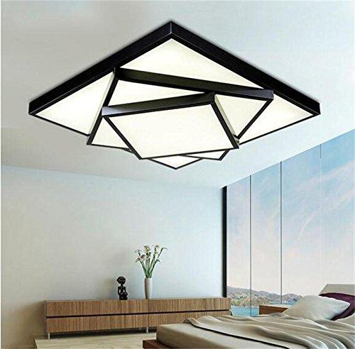 Einfache moderne positive atmosph re rechteckigen for Moderne wohnzimmerlampen