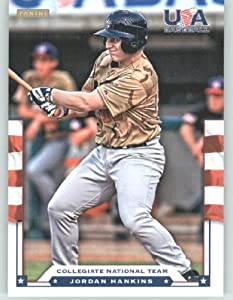 Buy 2012 Panini TEAM USA Baseball Card # 12 Jordan Hankins - Collegiate National Team (Rookie Prospect)... by USA Baseball