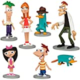 Disney Phineas and Ferb Figure Play Set -- 7-pc