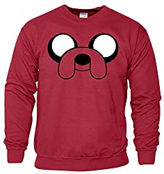 Jake The Dog Womens Boys Girls Ladies Unisex Sweater Hoodie Sweat Shirt Jumper Sports Casual Sweatshirt 'S M L XL XXL' Many Colors & sizes Available by SnS Appreal