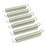 JIUWU Electric Guitar Tremolo Bridge Springs For Fender ST Stratocaster Pack Of 6