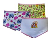 Winnie the Pooh and Friends 3 Pack Toddler Girls Panties for girls