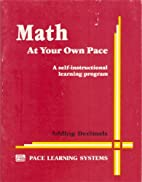 Math At Your Own Pace: Conversion of…