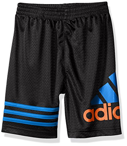 Adidas Boys' Little Boys' Racer Short, Caviar Black, 4