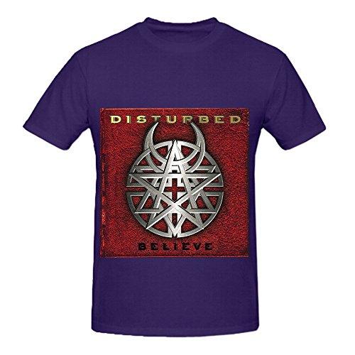 disturbed-believe-men-o-neck-design-tee-shirts-purple