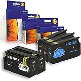 5 Pack, Compatible Inkjets HP 950XL, 951XL, 2 Blacks, 1 Cyan, 1 Yellow, 1 Magenta. Hp CN045AN, CN046AN, CN047AN, CN048AN