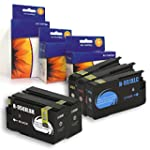 5 New Ink Cartridges Compatible for H...