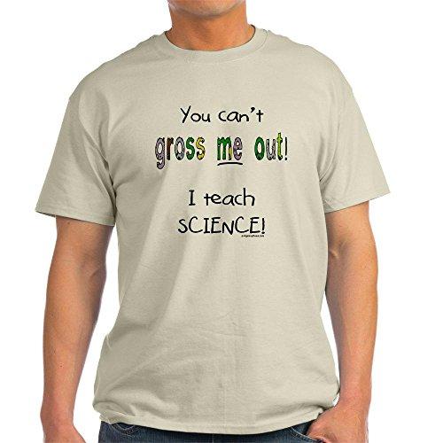 717dd0c9 CafePress No gross science teacher Light T-Shirt ...