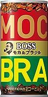 サントリーボス モカ&ブラジル 185g缶×30本