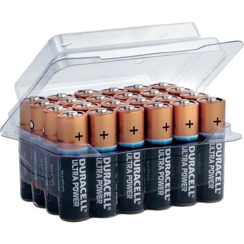 Duracell 3 piles aA ultra power mX1500 (24 pièces)