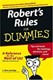 img - for By C. Alan Jennings Robert's Rules For Dummies (1st Edition) book / textbook / text book