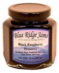 Black Raspberry Preserves, Set of 3 (10 oz Jars)