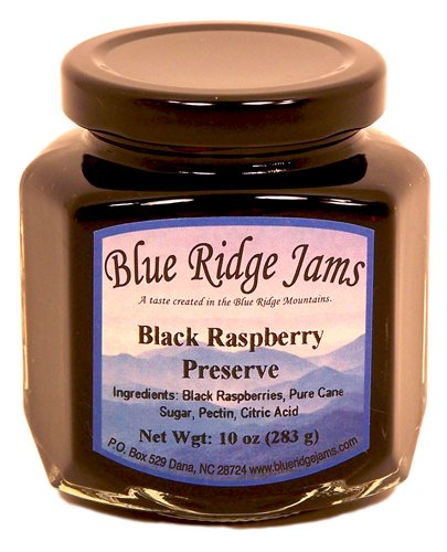 Blue Ridge Jams: Black Raspberry Preserves, Set