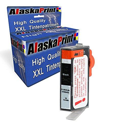 Premium Kompatible Tintenpatrone Als Ersatz für HP 364 XL für Deskjet 3520 3522 3524 3070A Schwarz Black BK