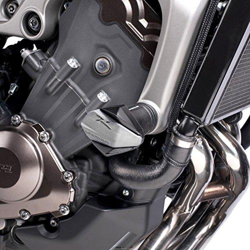 Roulettes de protection Puig Yamaha MT-09 13-16 noir