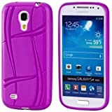 ECENCE Samsung Galaxy S4 mini I9190 I9195 I9192 Duos Silikon TPU case schutz h�lle handy tasche cover schale lila 11010504