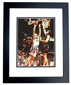 Keith Van Horn Autographed Hand Signed New Jersey - Nets 8x10 Photo - BLACK CUSTOM... by Real+Deal+Memorabilia