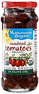 Mediterranean Organic Sundried Tomatoes In Olive Oil, 8.3 oz
