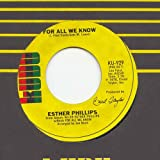 For All We Know - Esther Phillips 7
