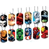 NEW Avenger Marvel SuperHero Dog Tag 10 count
