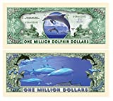 Set Of 50 Dolphin Million Dollar Bill